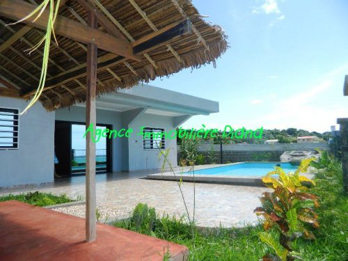 Sale villa nine pool sea view