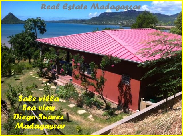 Sale villa Sea view Diego-Suarez Madagascar
