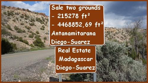 Sale two grounds Antanamitarana Diego