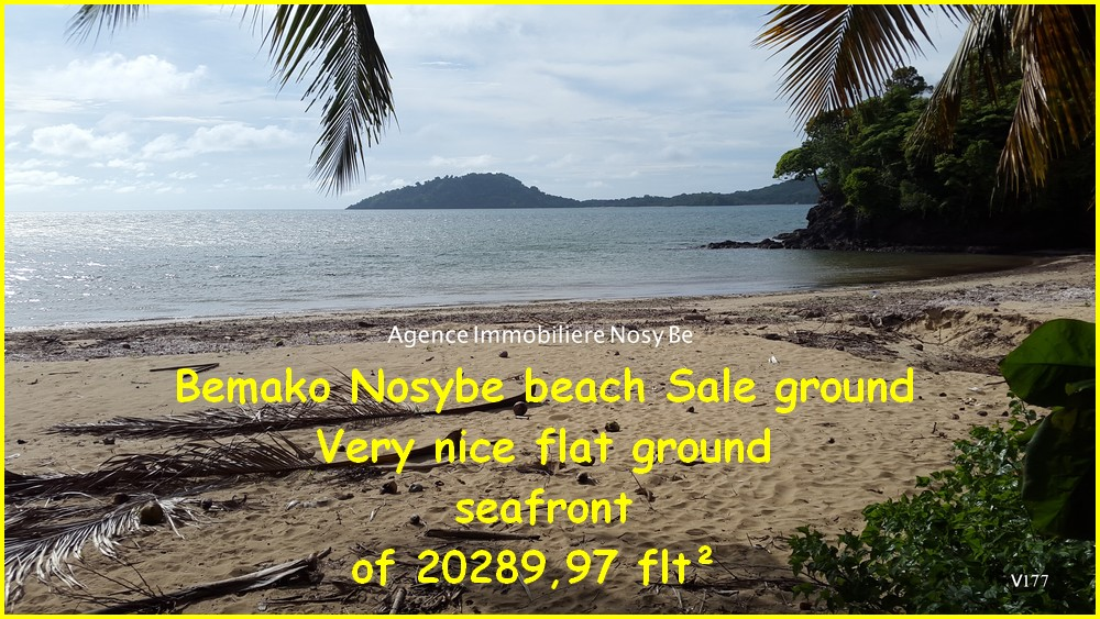Beach land sale Bemako NosyBe