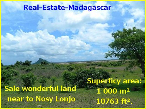 Sale wonderful land near Nosy Lonjo