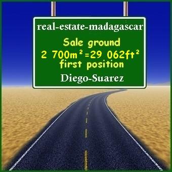 Diego-Suarez Sale ground 29 062ft² first position