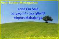 Mahajanga sale big land near airport