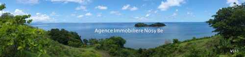 Sale land 1 hectare height Palm Beach Nosybe