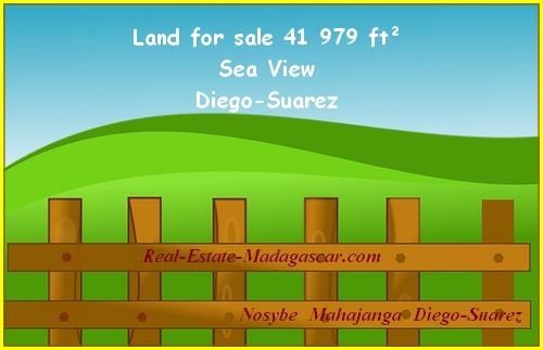 Avenir 21 Diego-Suarez Sale land 41 979 ft²
