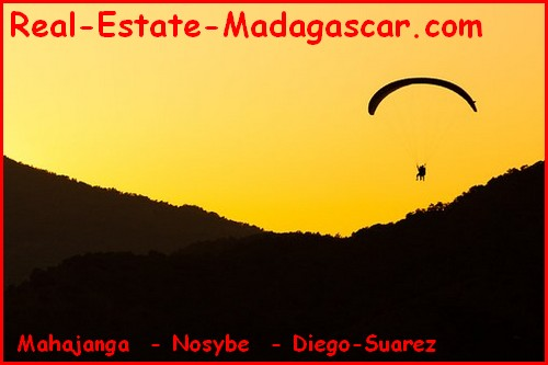Sale villa Palm Beach Nosybe Madagascar