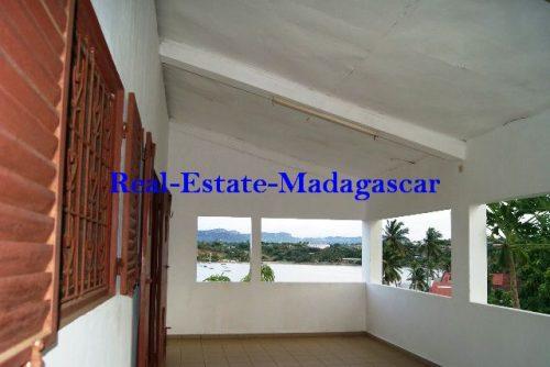 Rental apartment 250 m² downtown Diego-Suarez