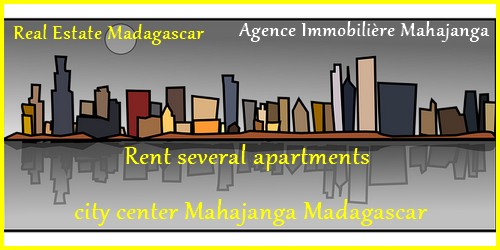 Rent several apartments city center Mahajanga Madagascar