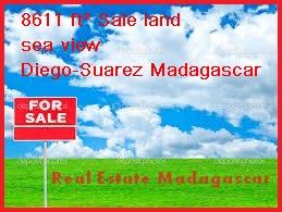 8611 ft² Sale land sea view Diego-Suarez Madagascar