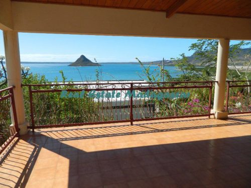 Annual rent unfurnished big villa sea view Diego-Suarez Madagascar